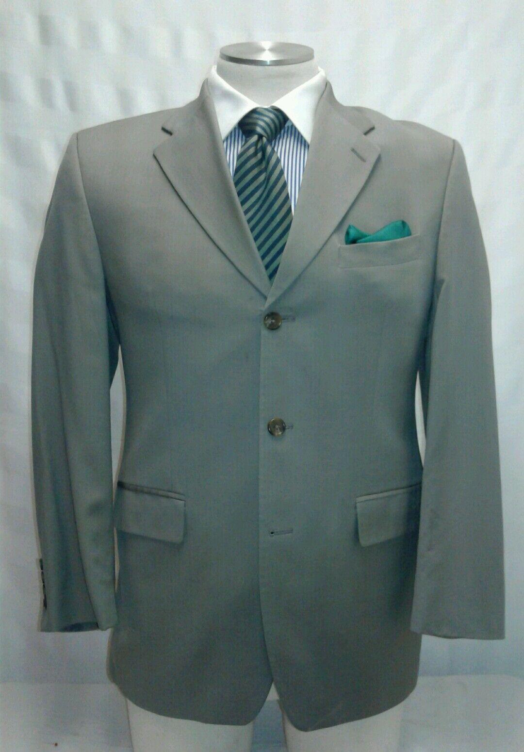 Herren MARK SHALE oive 3 button suit sz 42R