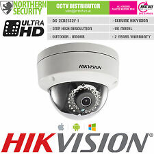 HIKVISION DS-2CD2132F-I 6mm 3MP 2MP 1080P Dome Onvif HD IP Security Camera POE