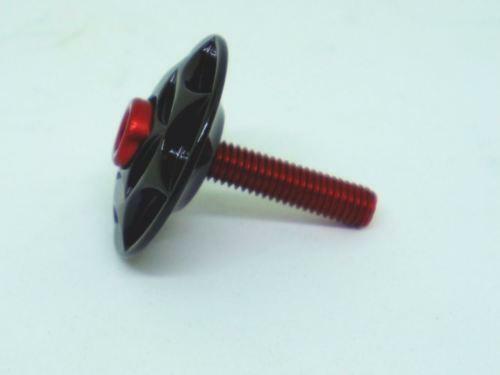 """XON FULL CNC Machined Headset Top Cap For fork 1-1//8/"""" Fork Tube /""""Black/"""""""