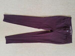 Womens-AMERICAN-EAGLE-purple-Jegging-stretch-pants-Sz-2