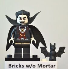 New Genuine LEGO Vampire Minifig with Bat Series 2 8684