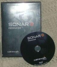 Cakewalk Sonar 8 Producer Edition dvd