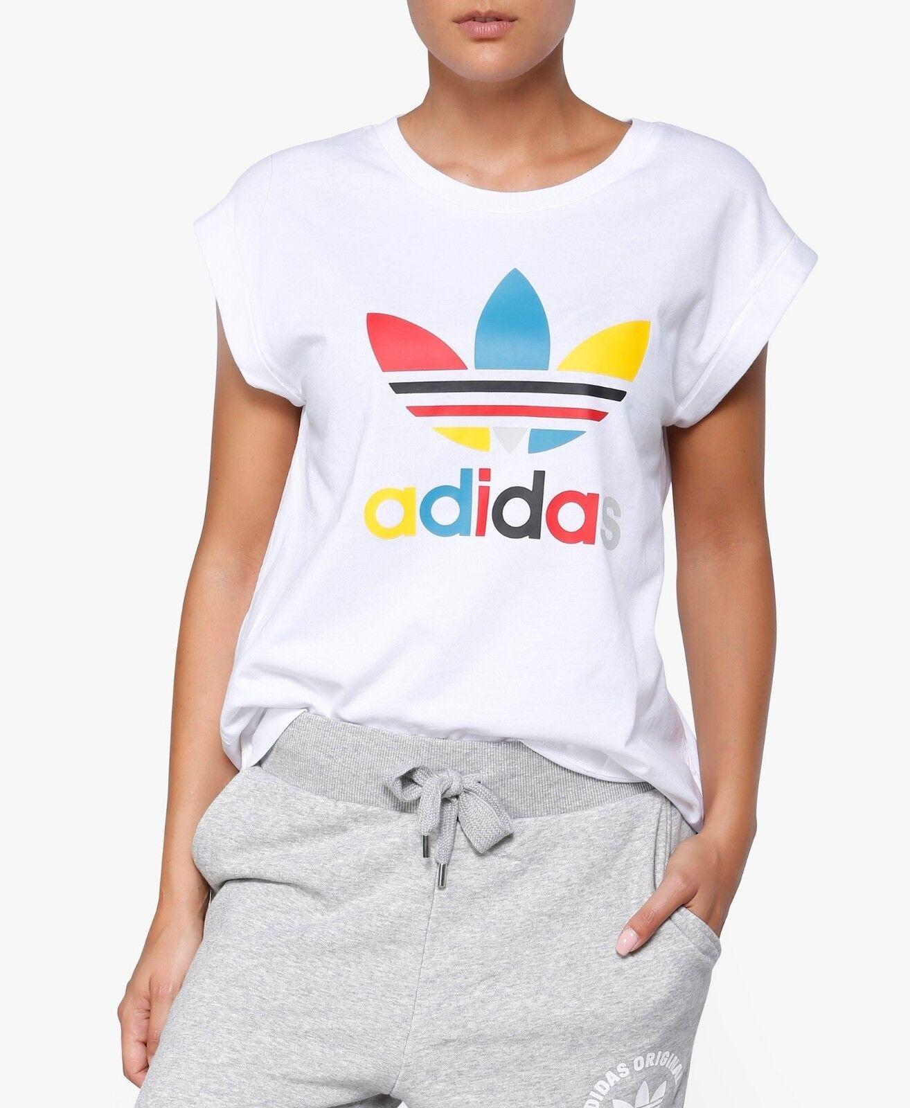 Adidas Originals Női barát ROLL UP TEE AY9460 Sz S-M