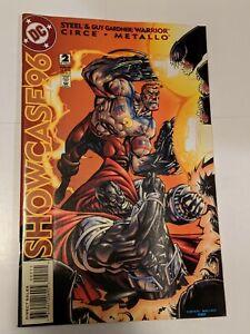 Showcase 96 #2 February 1996 DC Comics Steel Guy Garnder Warrior Aqualad