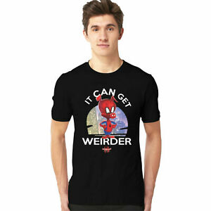 Il-peut-obtenir-plus-bizarre-T-shirt-SPIDER-MAN-FILM-D-039-ACTION-Adultes-amp-Enfants-Tee-Top