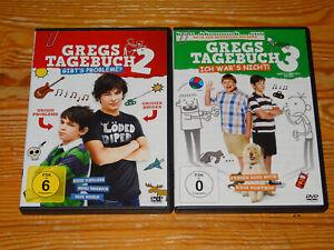 GREGS-TAGEBUCH-2-GIBT-039-S-PROBLEME-amp-3-ICH-WAR-039-S-NICHT-2-VERSCHIEDENE-DVD-039-S