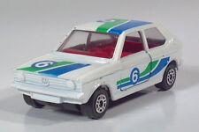 "Corgi Juniors VW Polo Volkswagen Turbo Rally 6  2.75"" Die Cast Scale Model White"