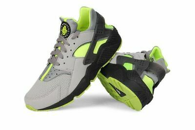 authentic a few days away to buy Nike Air Huarache Volt Neon 318429-019 SIZE 9 USA / 42.5 EU / 8 UK ...