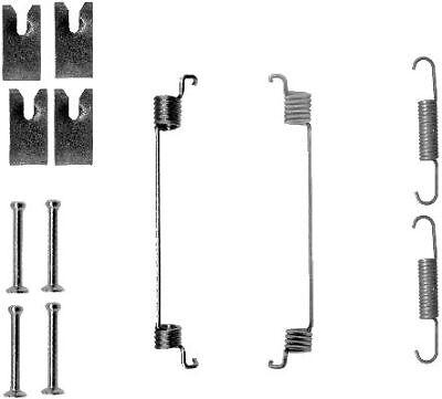 Mintex Rear Brake Shoes Accessory Fitting Kit MBA810-5 YEAR WARRANTY