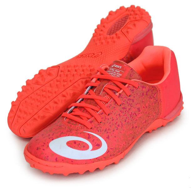 Asics JAPAN TOQUE 5 TF Indoor Soccer Football Futsal Turf shoes TST708 Red