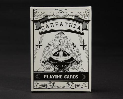 1 DECK Carpathia WHITE  playing cards  by USPCC  S1032279998005-甲A2