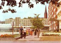 AK, Frankfurt Oder, Karl-Marx-Straße, belebt, 1981