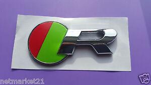 Jaguar R Logo Chrome Emblem Badge for XKR XJR XFR XJ XK XF S Type X Type R