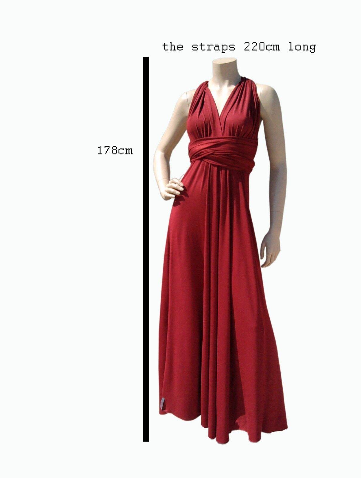 ElenK 129.00  congreenible congreenible congreenible multy way infinity dress silky a6cd94