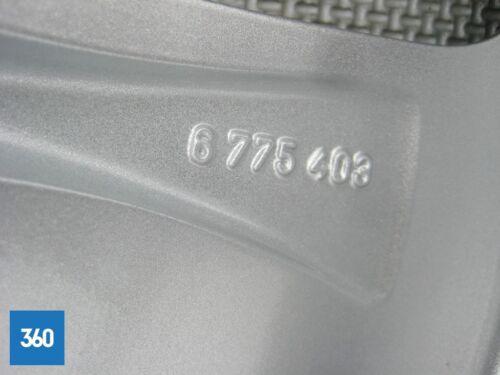 """GENUINE BMW 5 6 7 GT SERIES 18/"""" 234 DOUBLE SPOKE ALLOY WHEELS SILVER 36116775403"""
