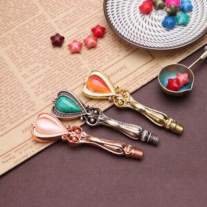 DIY-Replace-Tools-Vintage-Palace-Gemstone-Sealing-Wax-Stamp-Metal-Handle-Grip