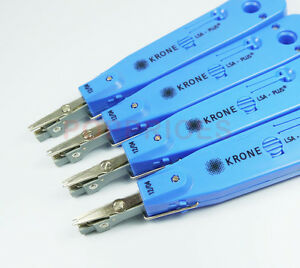 4PCS-Set-Krone-Network-Impact-LSA-Plus-Punch-Down-Tool-Blue