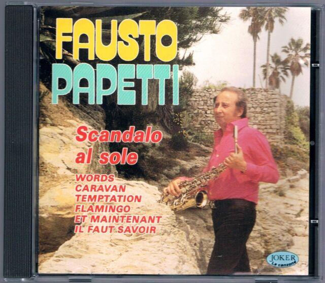 FAUSTO PAPETTI SCANDALO AL SOLE CD