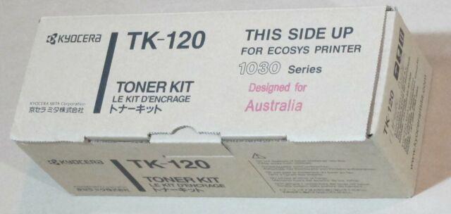 [0727*] KYOCERA TK-120 BLACK TONER ( RRP>$170 )