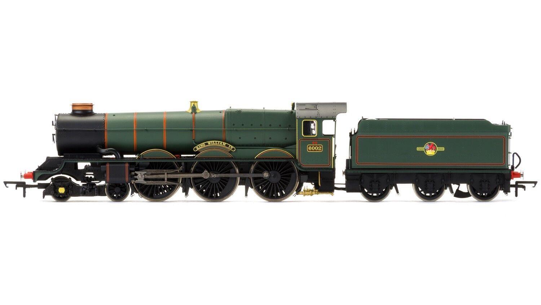 Hornby R3384TTS, HOOO, Hornby BR 4-6-0 rey Jorge I Late BR con sonido TTS