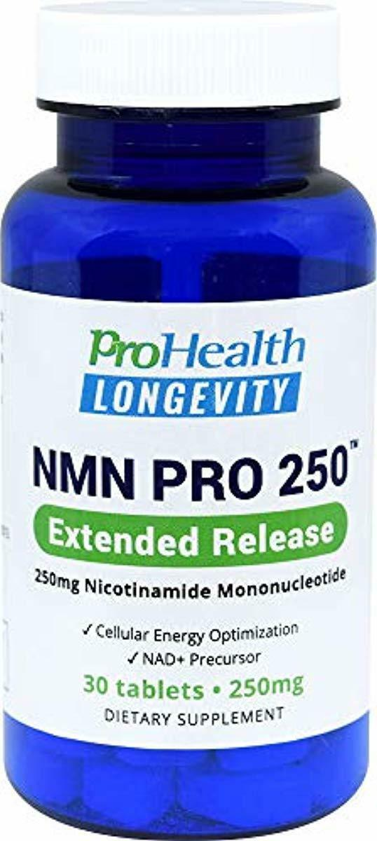 Image 1 - ProHealth-NMN-Pro-250-Extended-Release-250-mg-nicotinamide-mononucleotide-30-T