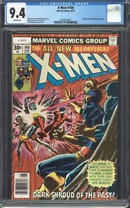 UNCANNY-X-MEN-106-CGC-9-4-NM-Marvel-1977-Chris-Claremont