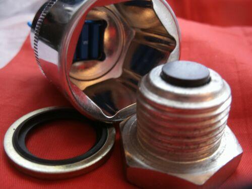 NUOVO ROVER P5B V8 Coupe /& Berlina Motore Coppa dell/'olio scarico magnetico Plug /& Presa Kit.