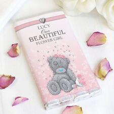 Personalised Me to You Wedding Girls Chocolate Bar Gift - Tatty Teddy