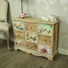 Floreale 9 cassetto cassettiera shabby chic vintage mobili camera da letto