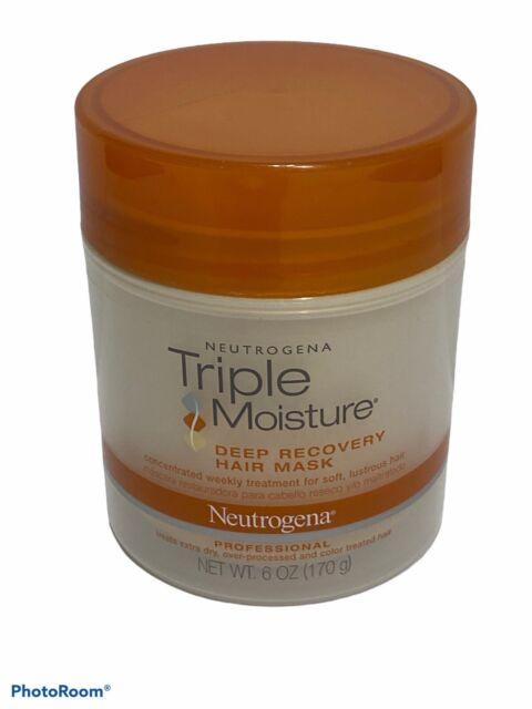 1 - Neutrogena Triple Moisture Deep Recovery Hair Mask 6oz NEW