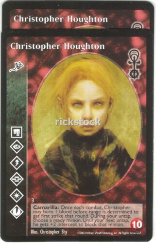 Christopher Houghton x2 Toreador AE VTES Jyhad