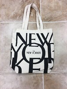 Details About Womens The New Yorker Canvas Tote Bag