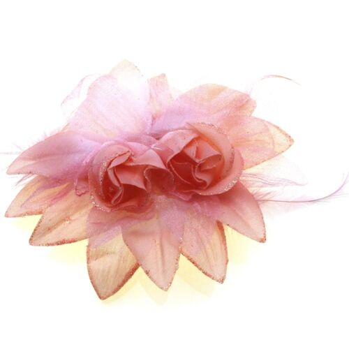 Hair Flowers Accessories Dance Ballet Stage Girls Head Pieces Clips Childrens UK