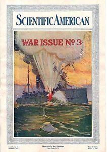 1914 Scientific American November 7 - Armored automobiles; Torpedo warfare
