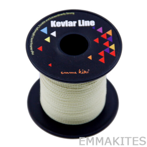High Strength 100ft 750lbs Braided Kevlar Fiber Line for Fishing Camping Outdoor