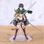 thumbnail 4 - Attack on Titan Action Figure Eren Mikasa Ackerman Levi Rivaille Figma PVC 13CM
