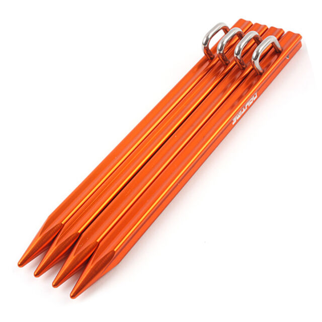 4pcs Convenient Tent Stake Pegs Garden Stakes Safe Tent Nails Useful Tents Nail