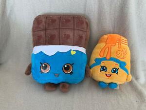 Shopkins-bundle-of-soft-toys-cheeky-chocolate-and-Honeeey