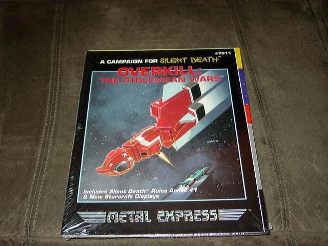 Metal Express-Overkill  las guerras ptolemean-campaña para la muerte silenciosa (sellado)