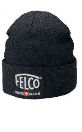 Berretto cappello invernale da uomo Felco in maglia di lana imbottito pile caldo