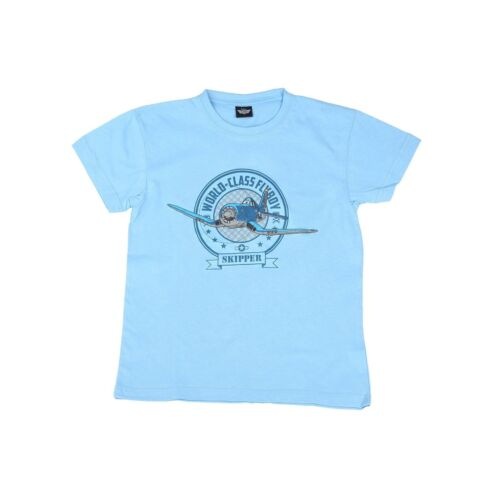 "Disney Planes Novelty /""Skipper/"" Kid/'s Pressed T-Shirt Size 3//5 6//8 10//12"
