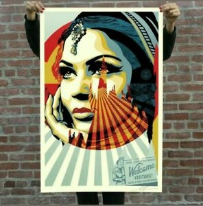 Obey-shepard-fairey-target-exceptions-lithograph-signed-banksy-c215
