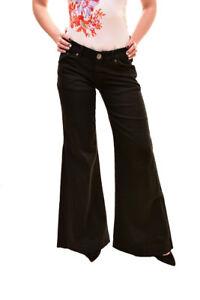 158 Size Marines Jeans Women's Bcf85 Rrp 26 One Black Teaspoon T8BS6S