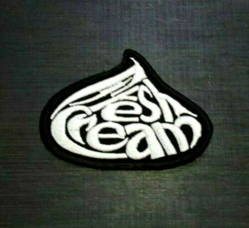 FRESH CREAM ROCK BAND MUSIC HEAVY METAL WOVEN Embroidered Iron Sew On Patch Logo