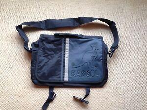 Kangol-Messenger-Bag-Blue-And-Grey
