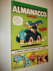 ALMANACCO-TOPOLINO-WALT-DISNEY-ALBI-D-039-ORO-N-307-MONDADORI-LUGLIO-1982-BUONO