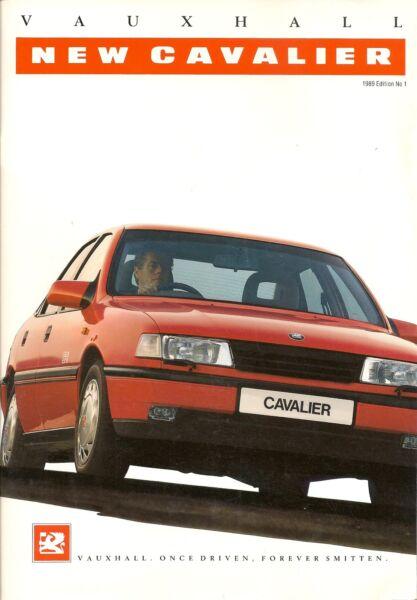 Vauxhall Mostra Itinerante Sulla Gamma Brochure 1989 Edizione N. 1 + Listino Prezzi Uk Postfree