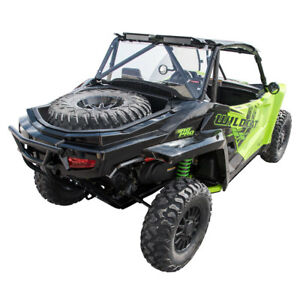 Scratch Resistant for Textron WILDCAT XX 2018 UTV Polycarb Rear Window Clear