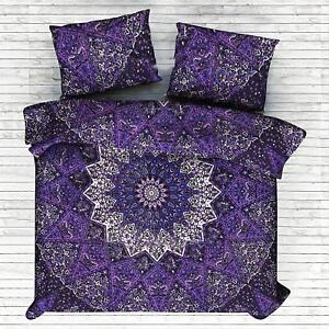 Mandala-Duvet-Cover-Queen-Size-Comforter-Set-Bed-sheet-Reversible-Bedding-Quilt