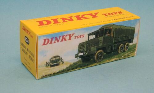 """824 Boite neuve Dinky Toys  BERLIET /""""Gazelle/"""" réf"""